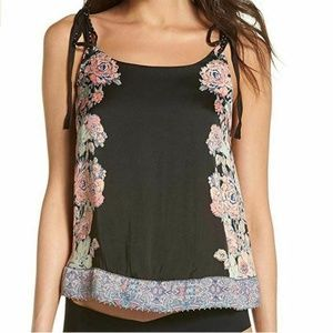 Free People Womens Small K1-04 Embellished Tank